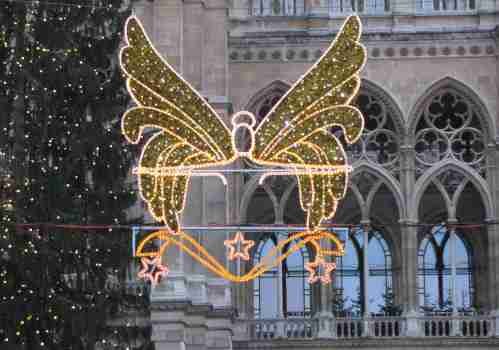 Christmas lighting in Vienna