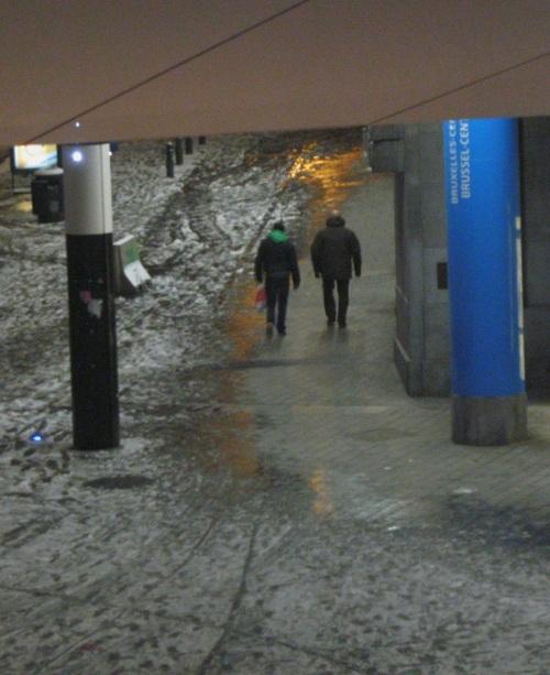 Brussels pedestrians