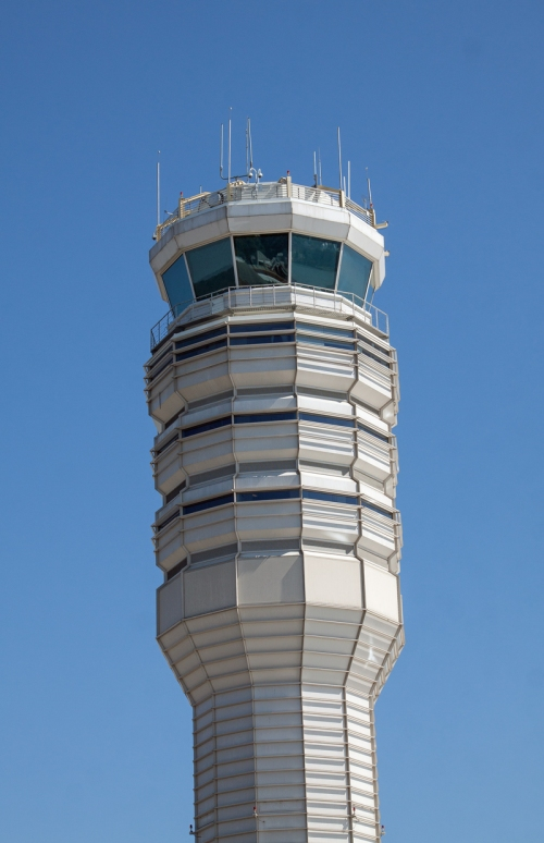control tower Reagan National Airport