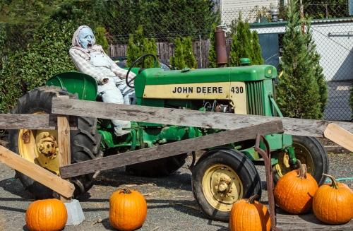 Halloween tractor