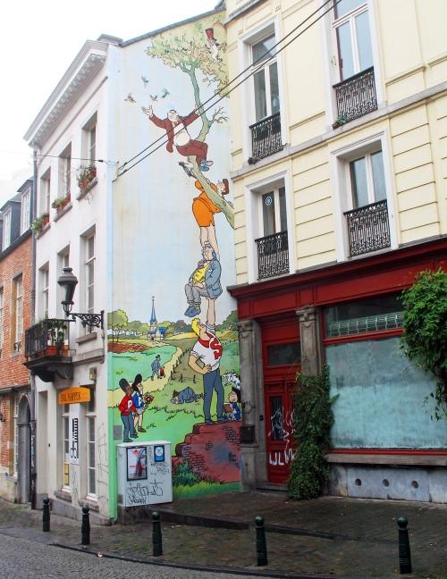 Brussels mural