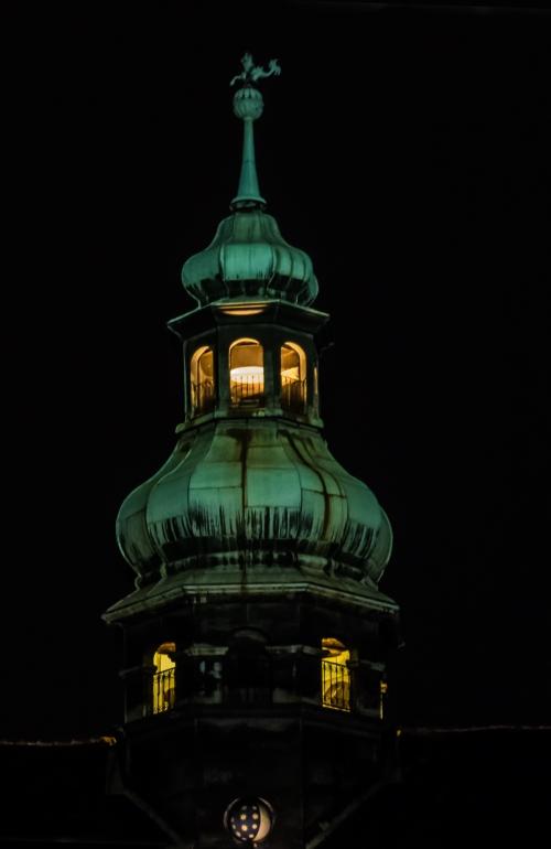 night lights in Vienna