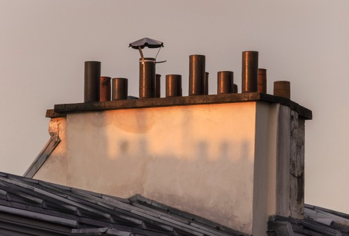 chimneys of Paris