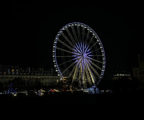 ferris wheel in Paris