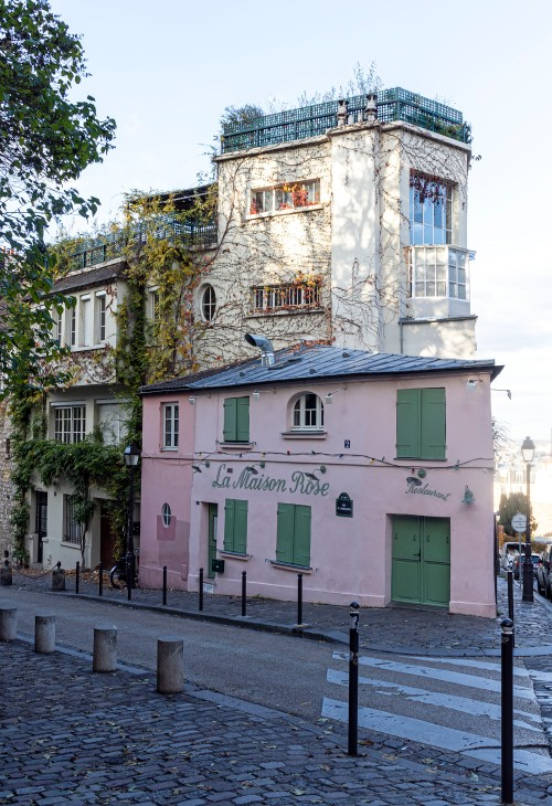La Maison Rose in Monmartre