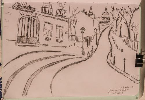 Montmartre sketch