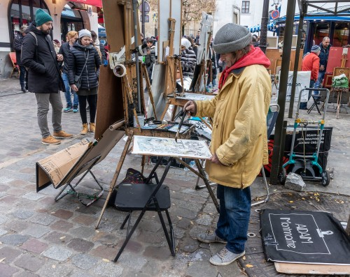 Painter at Place du Tertre