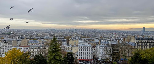 panorama from Montmartre