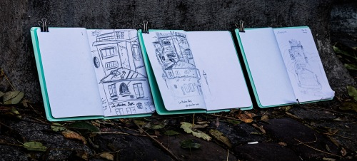 Sketching in Montmartre