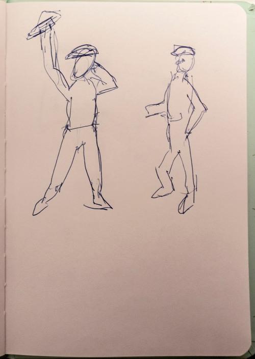Sketching in Montmartre