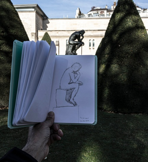 The Thinker in Paris