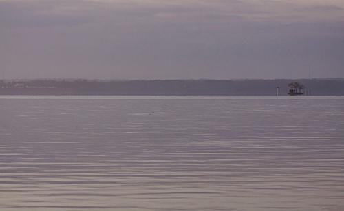 sunrise at Occoquan Bay